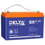 GEL аккумулятор DELTA GX 12-100